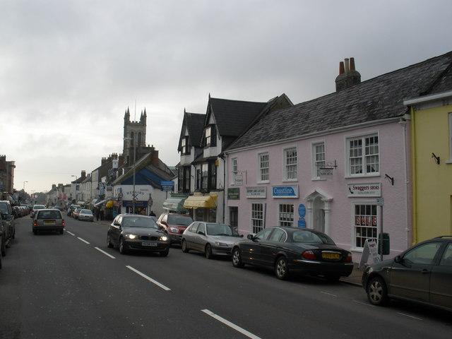 The High Street, Honiton - geograph.org.uk - 1140217