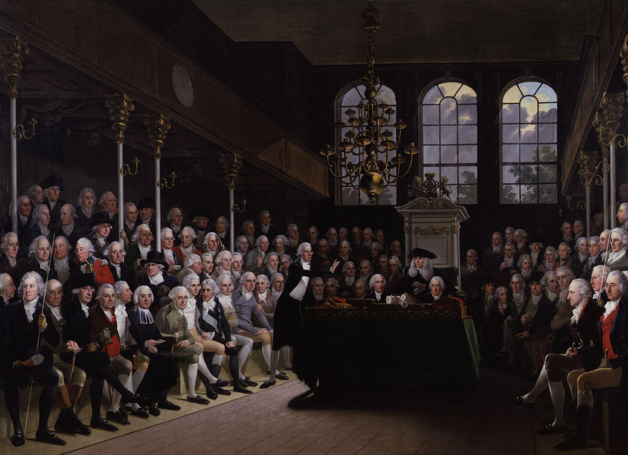 english parliament, 1700s