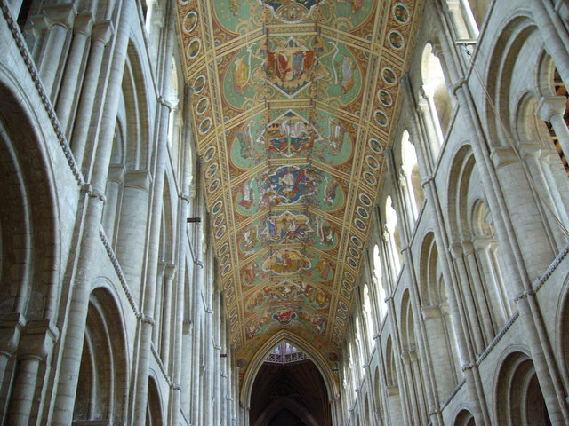 Bestand:The Painted Ceiling, Ely Cathedral - geograph.org.uk - 1318100.jpg