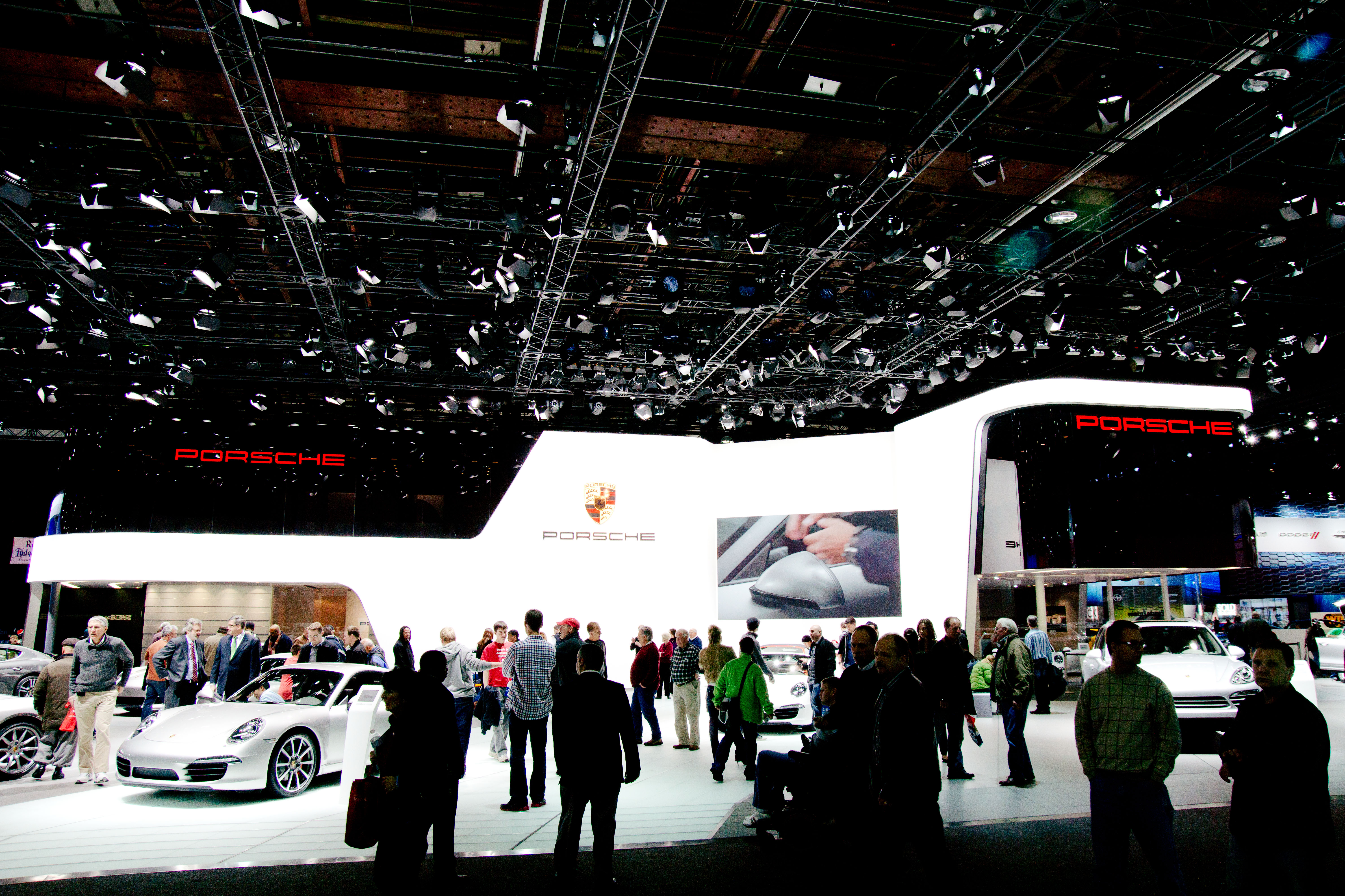 Exhibition Stand Wiki : File the porsche exhibit stand at naias g