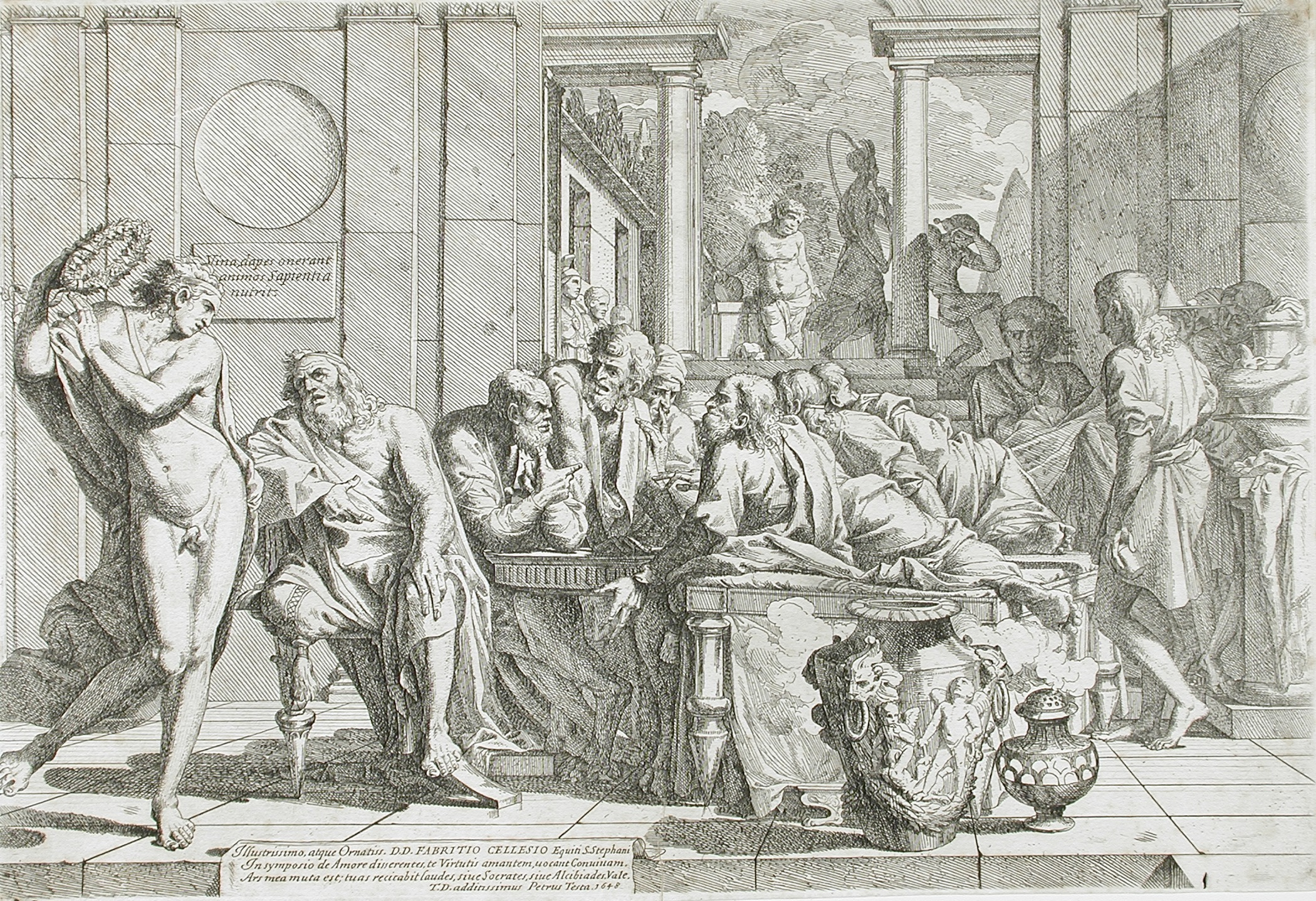 Literary analysis of the symposium by plato
