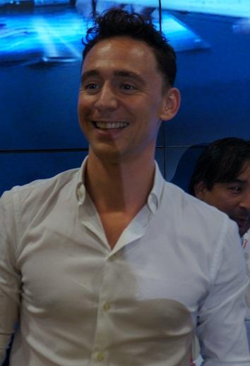 Photo Tom Hiddleston via Opendata BNF