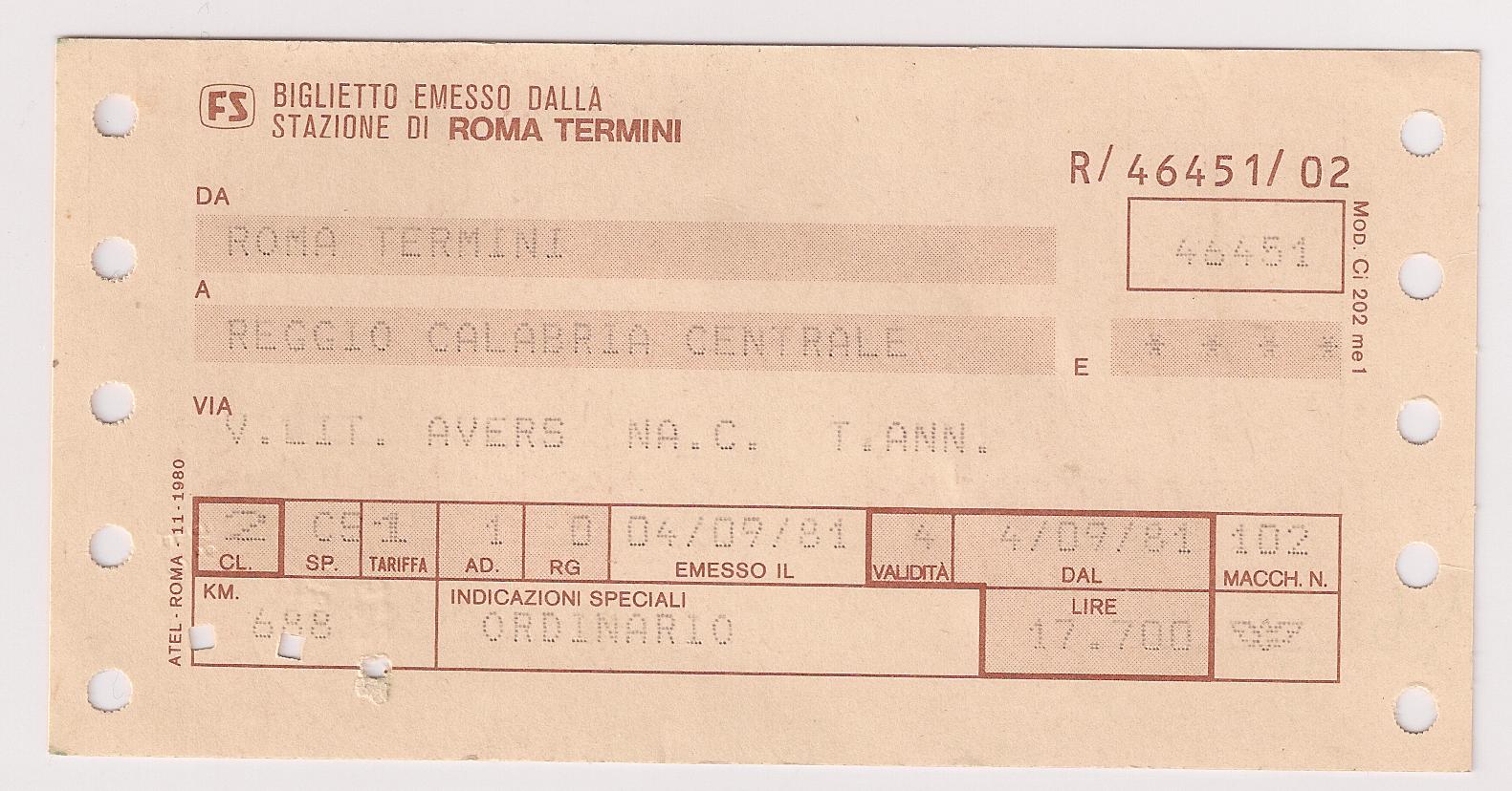 File:Train ticket FS Roma Termini - Reggio di Calabria