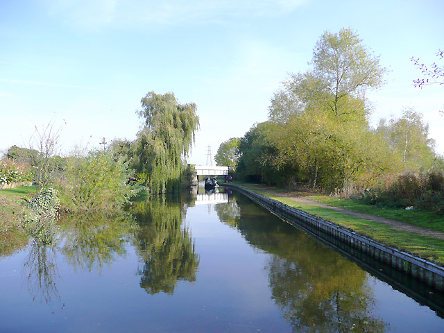 Trent and Mersey Canal north of Willington, Derbyshire - geograph.org.uk - 1607821