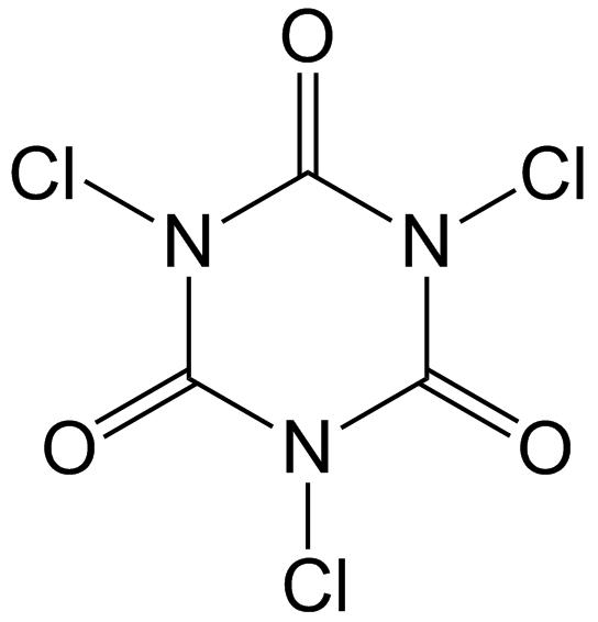 Trichloroisocyanuric acid - Wikipedia