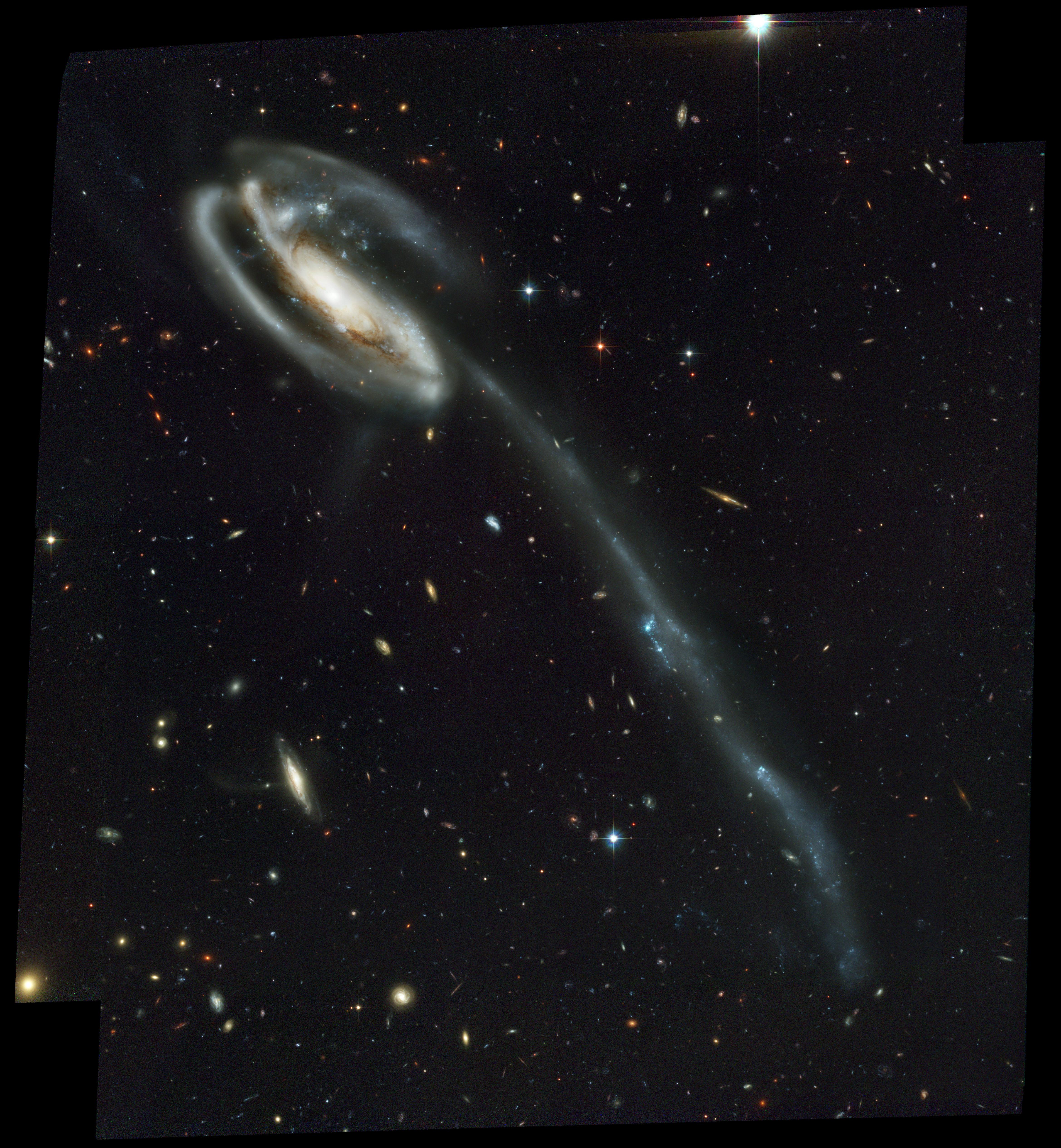 La galaxia Renacuajo.