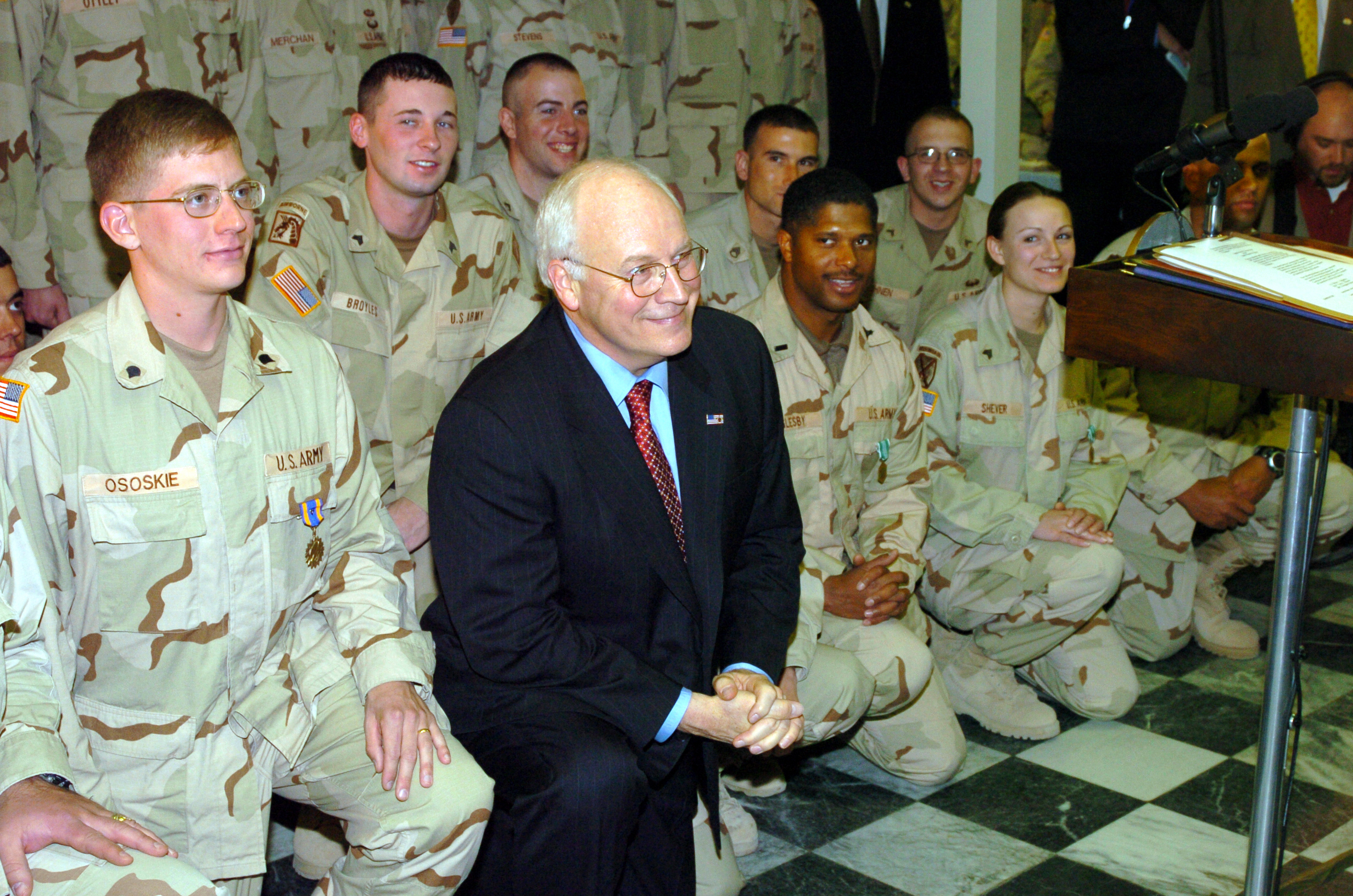 cheney dick afghanistan