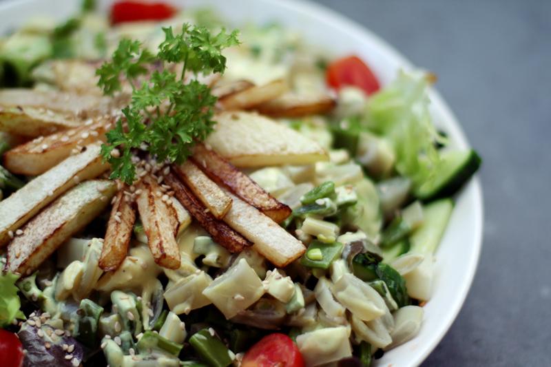 Restaurantes vegetarianos em Nova York saudáveis