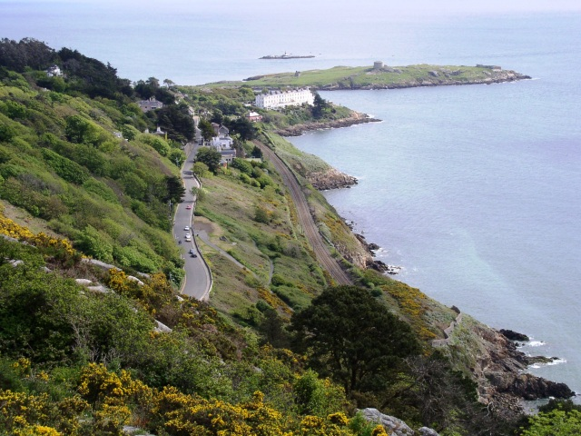 Vico Road from Killiney Hill - geograph.org.uk - 1310721