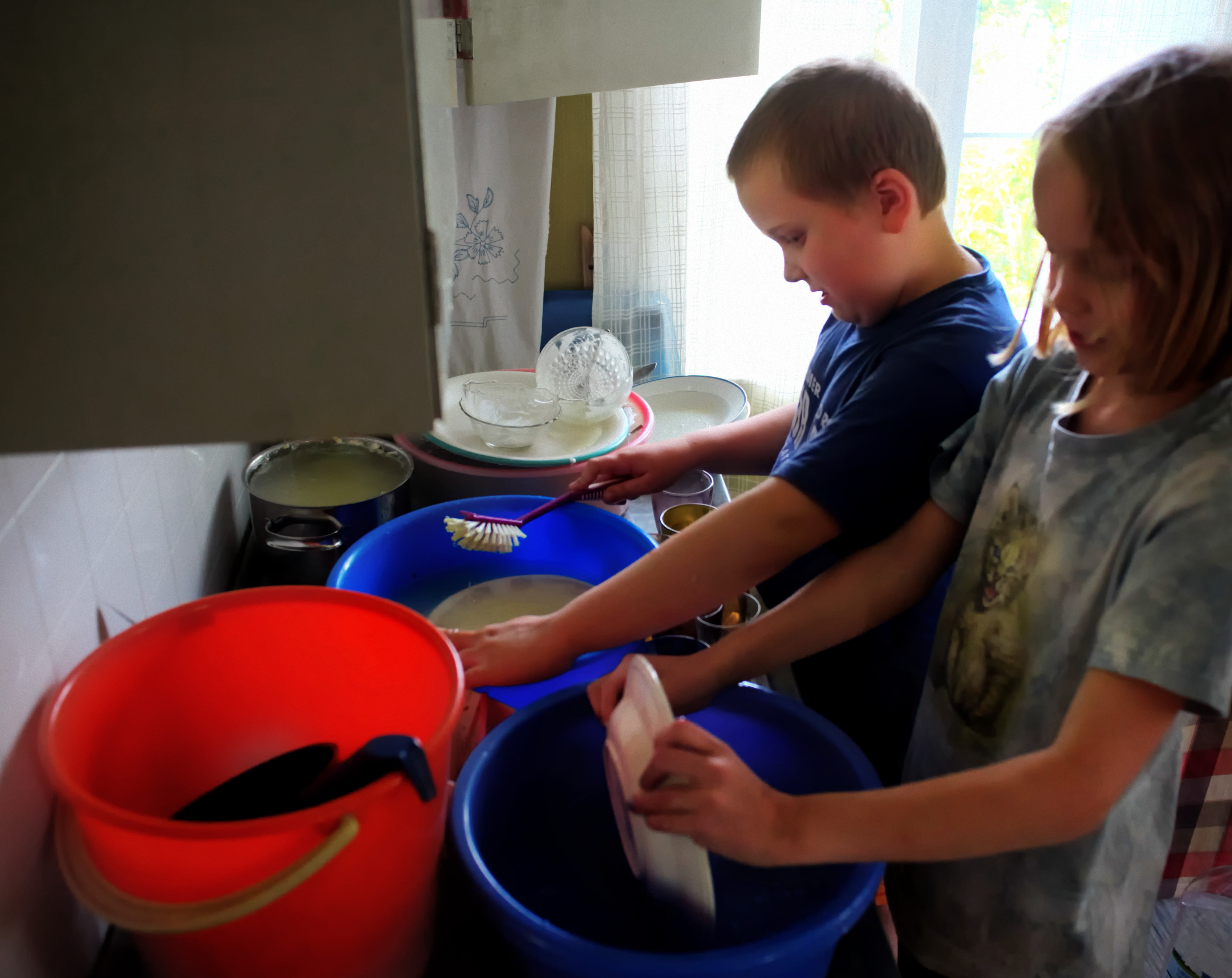 File:Washing The Dishes.jpg