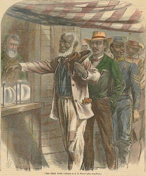 the importance of the congress to the reconstruction process in america Many white southerners felt humiliated by the process of radical reconstruction and the way republicans had upended southern society, placing blacks in positions of.