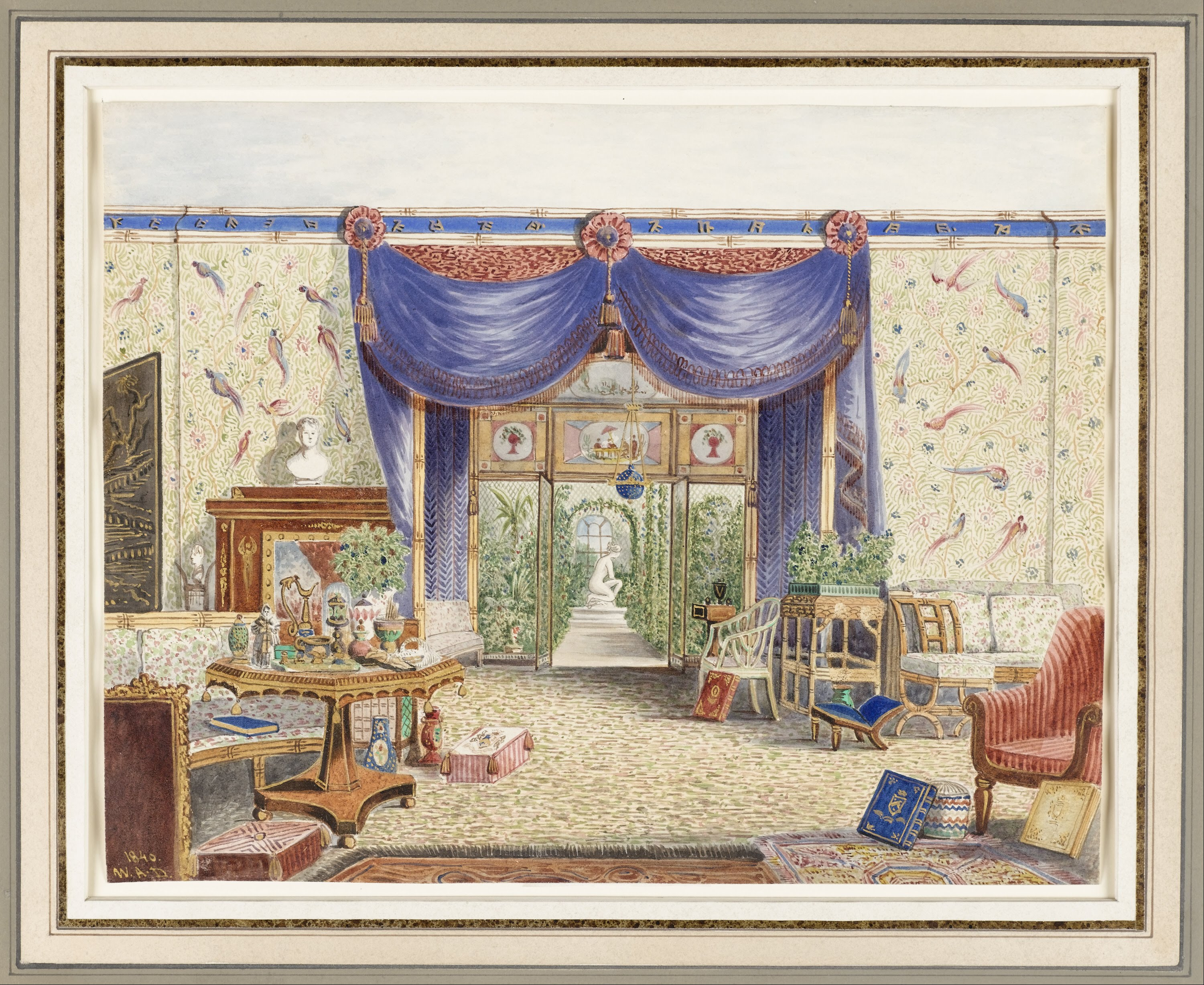 File:William Alfred Delamotte - The Interior of the ... - photo#23
