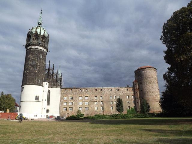 Wittenberg - Beim Schlossplatz - geo.hlipp.de - 28220