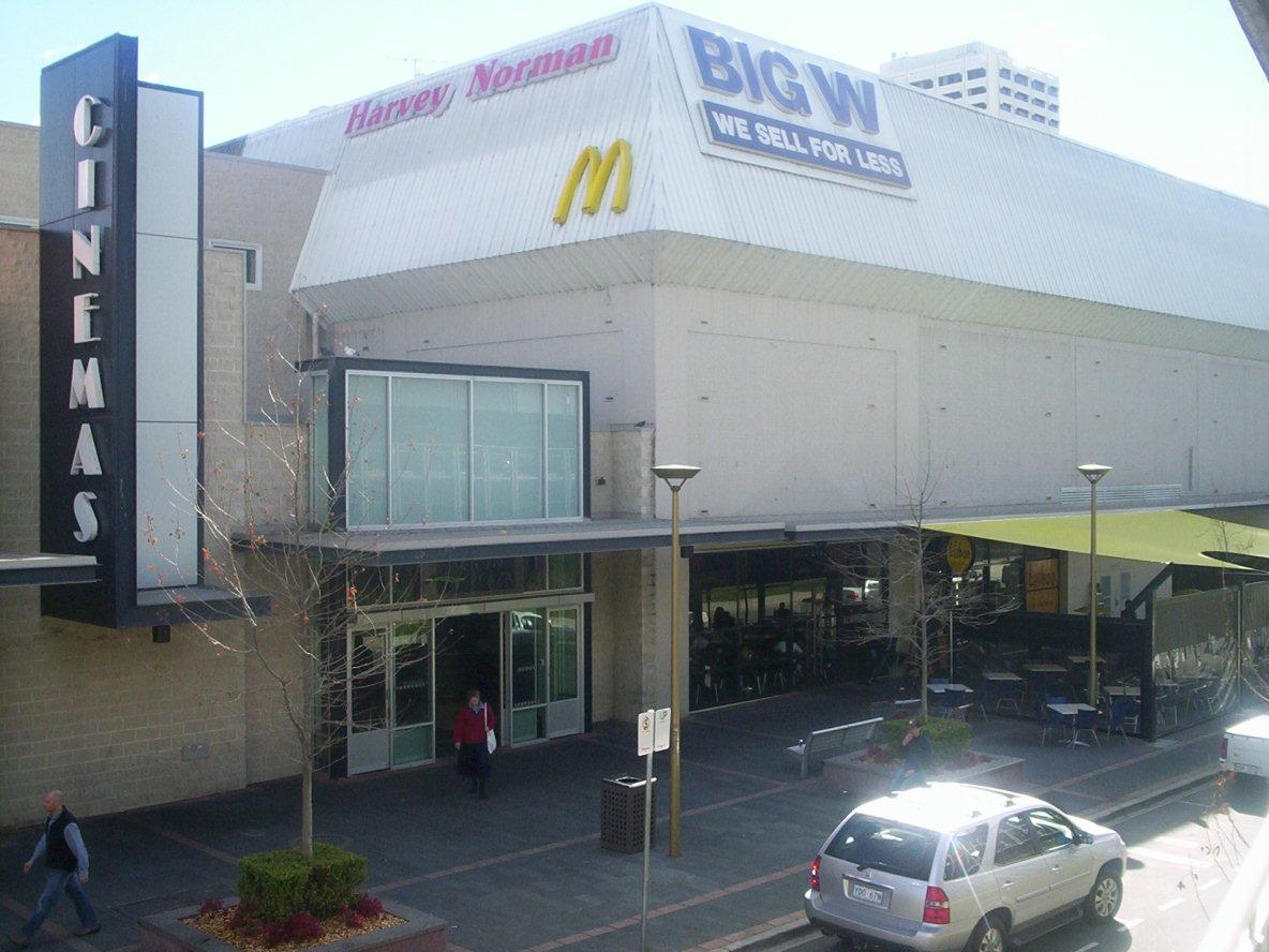 Burwood Plaza Car Park