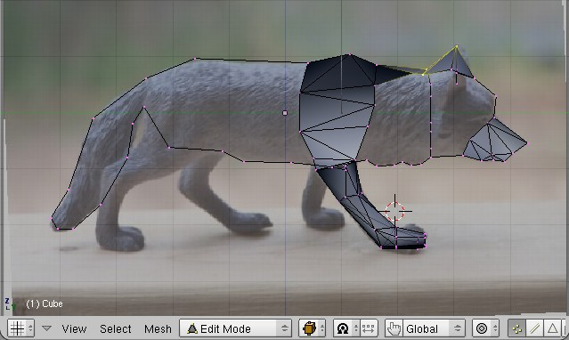 Blender 3d noob to promodeling a wolf from guide images wolf building sideg malvernweather Images