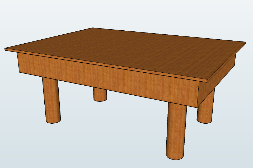 File:Wooden Table - SketchUp.png - Wikimedia Commons