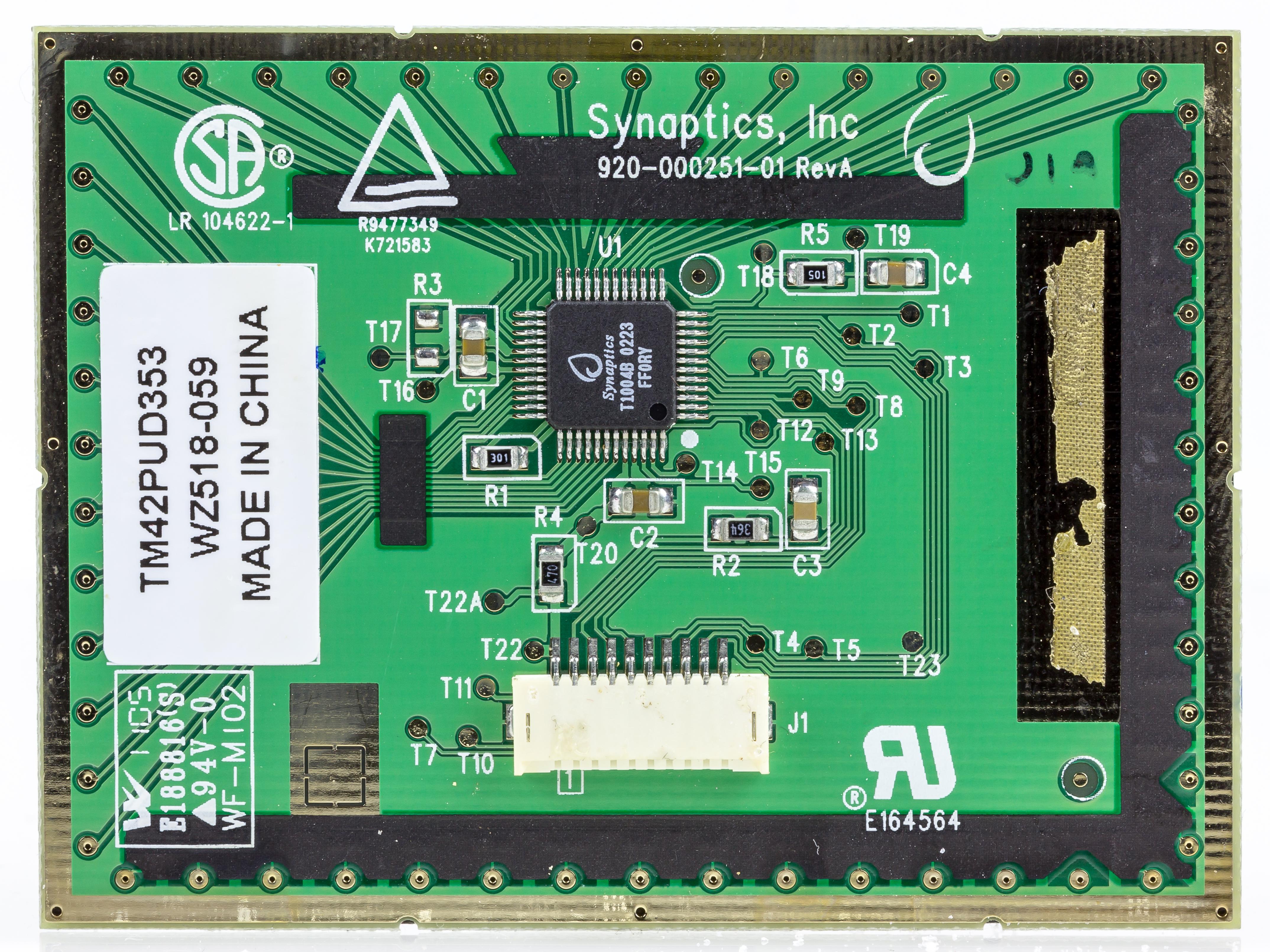 File:Yakumo Notebook 536S - Synaptics touchpad 920-000251-01-5403