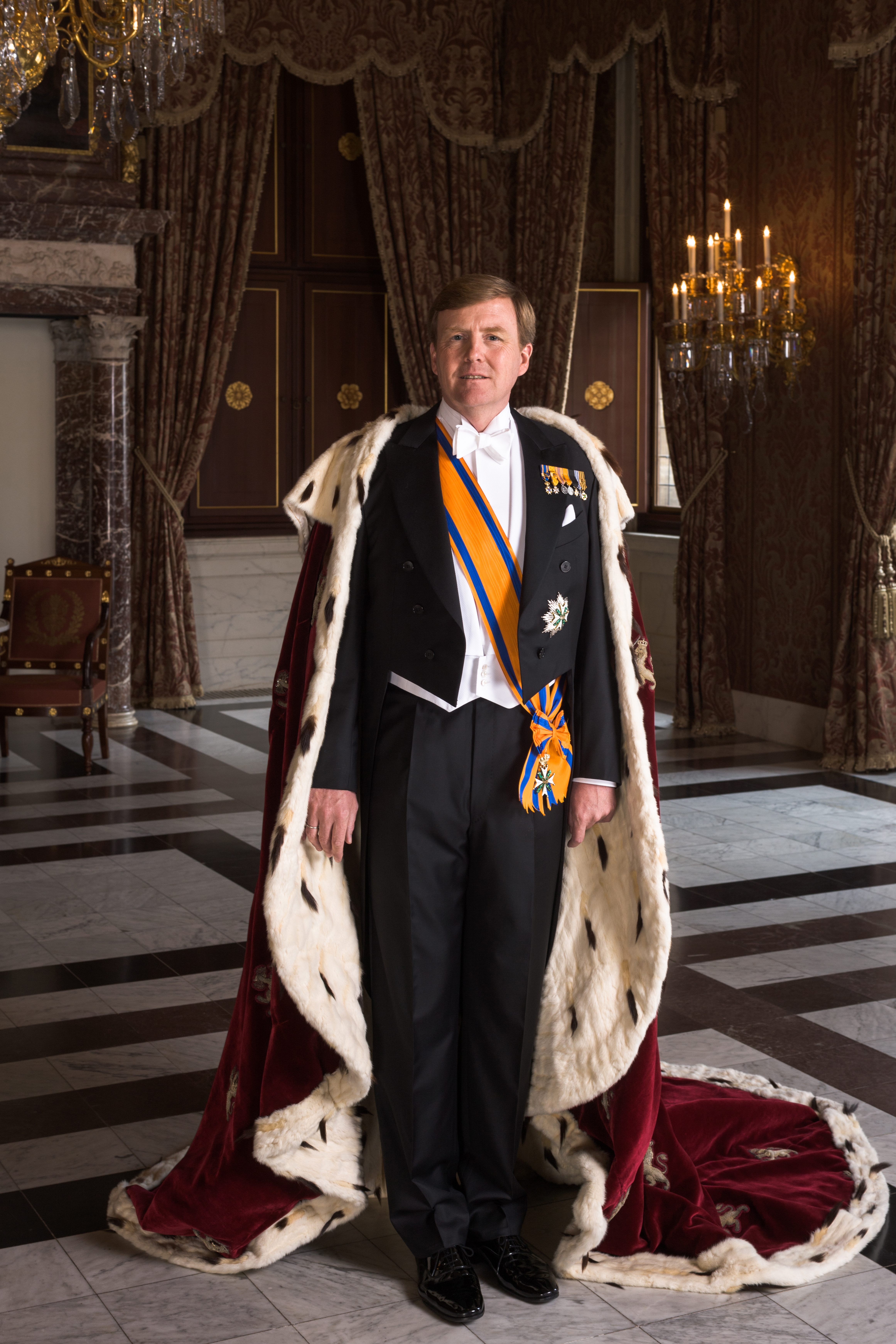 The 53-year old son of father Claus von Amsberg and mother Beatrix of the Netherlands Willem-Alexander Ferdinand in 2020 photo. Willem-Alexander Ferdinand earned a  million dollar salary - leaving the net worth at 220 million in 2020