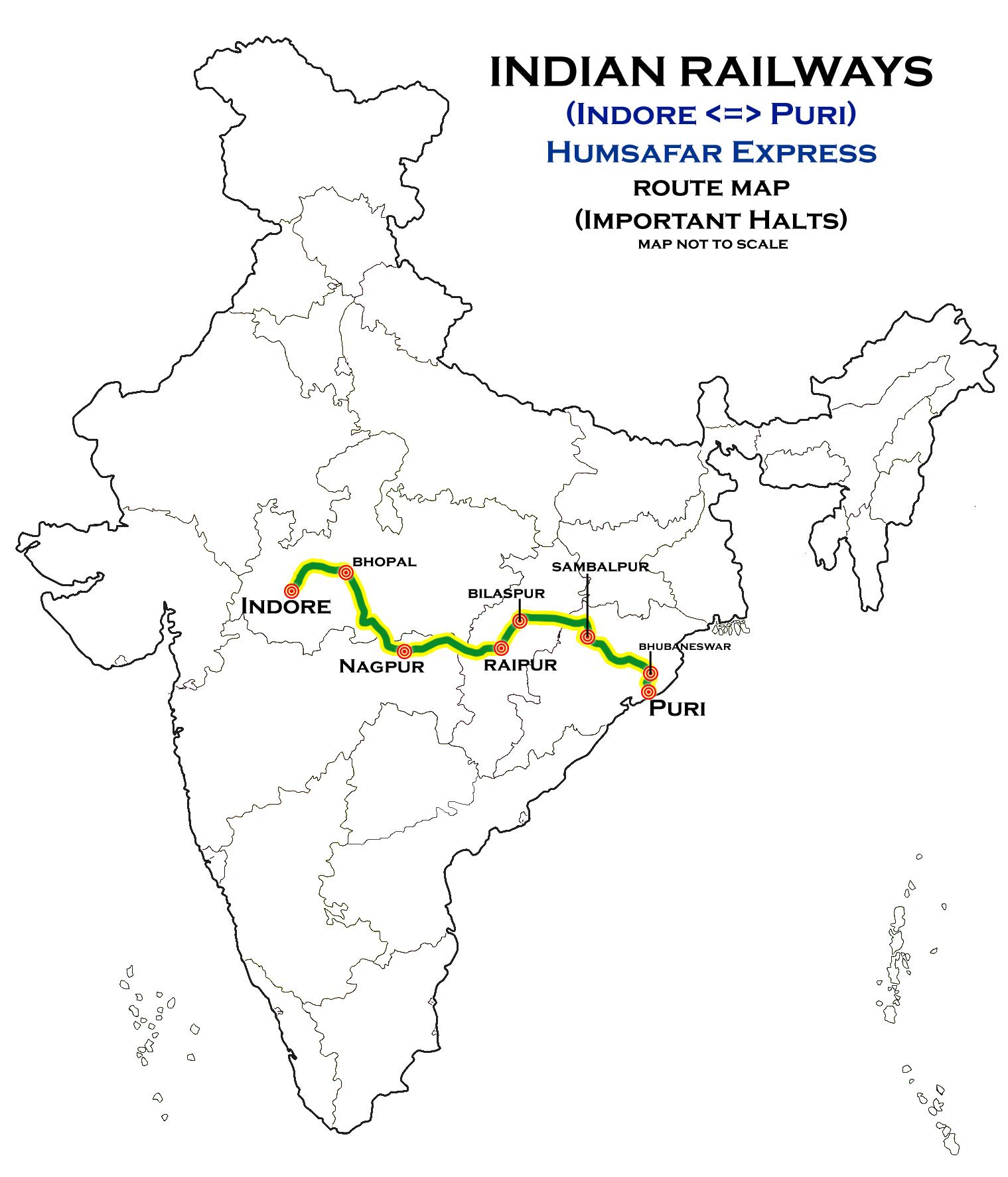 Indore - Puri Humsafar Express - Wikipedia