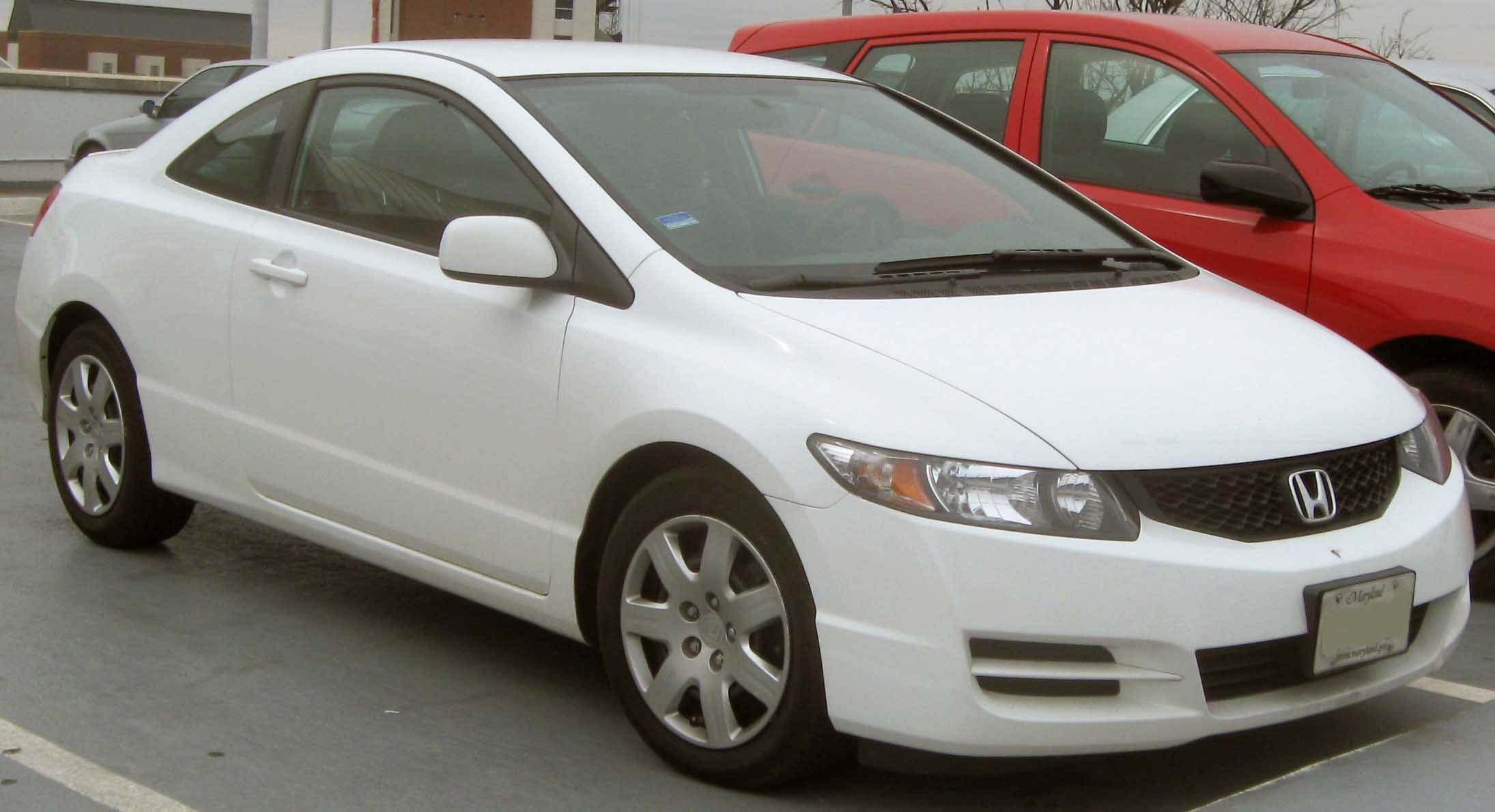 File:09 Honda Civic LX Coupe