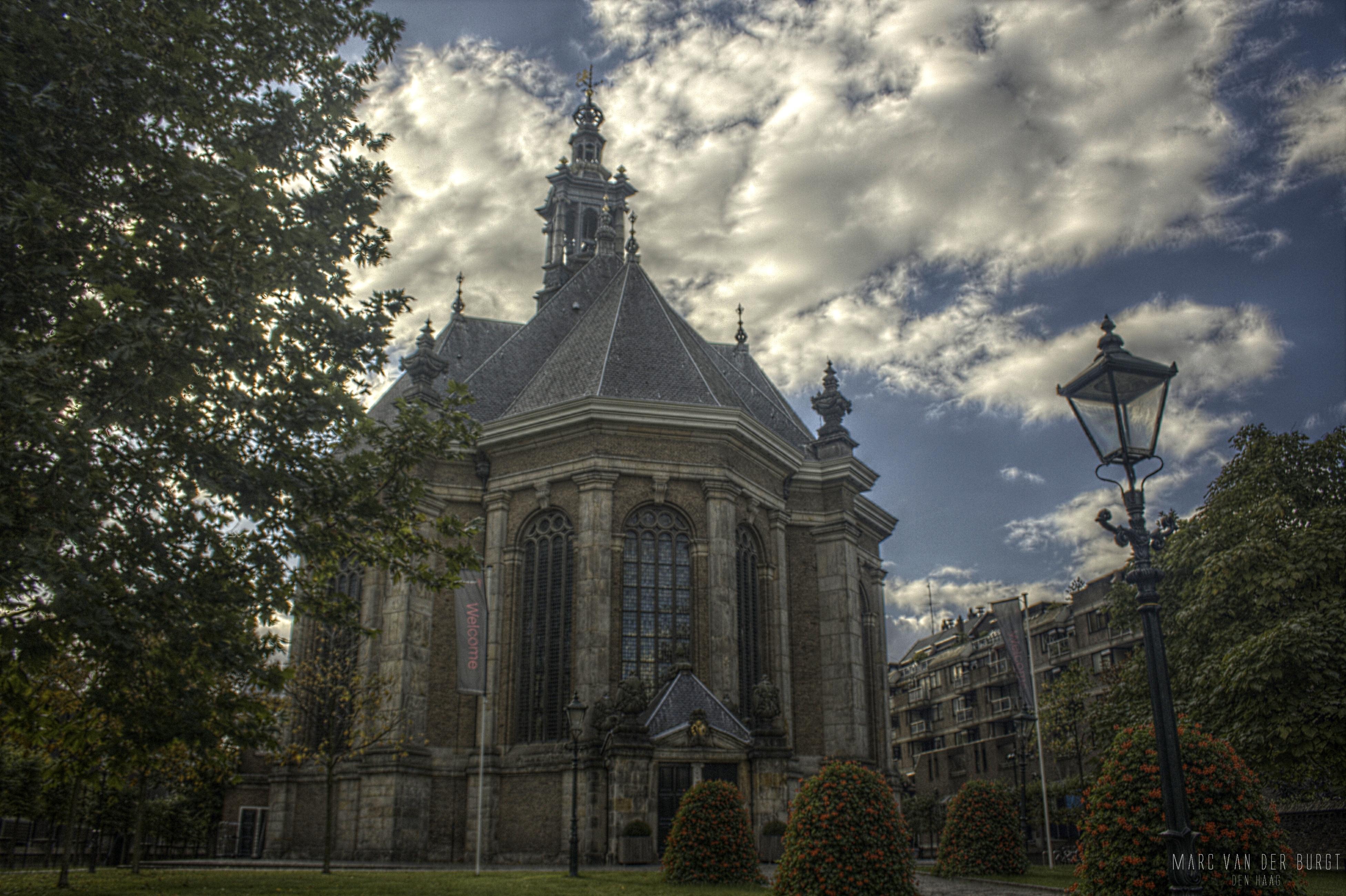 De Nieuwe Kerk in Den Haag heden ten dage