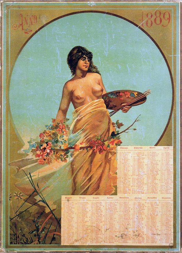 1889 sexy calendar