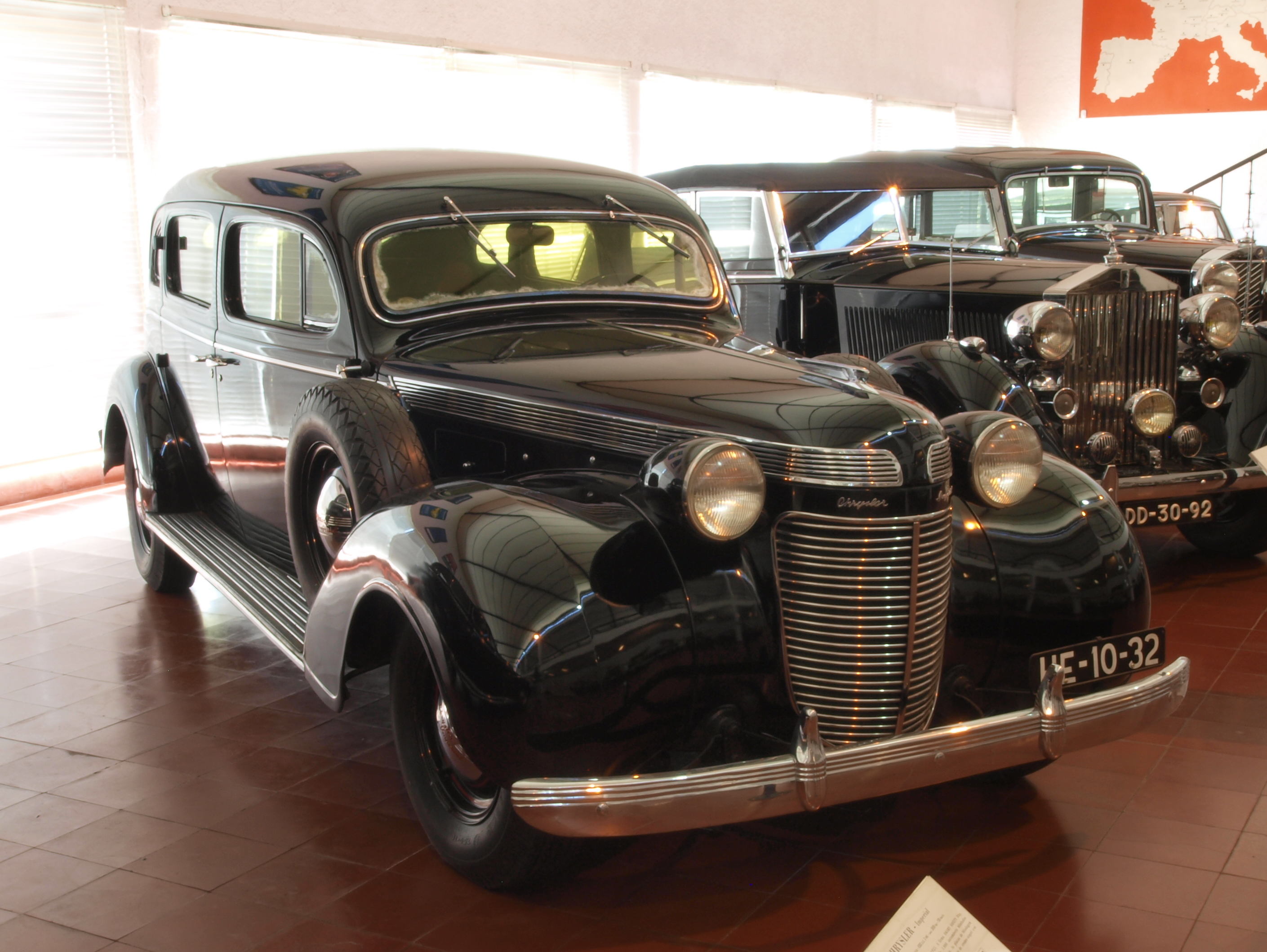 1937 Chrysler Imperial | Classic Cars | Hyman LTD  |1937 Chrysler Imperial