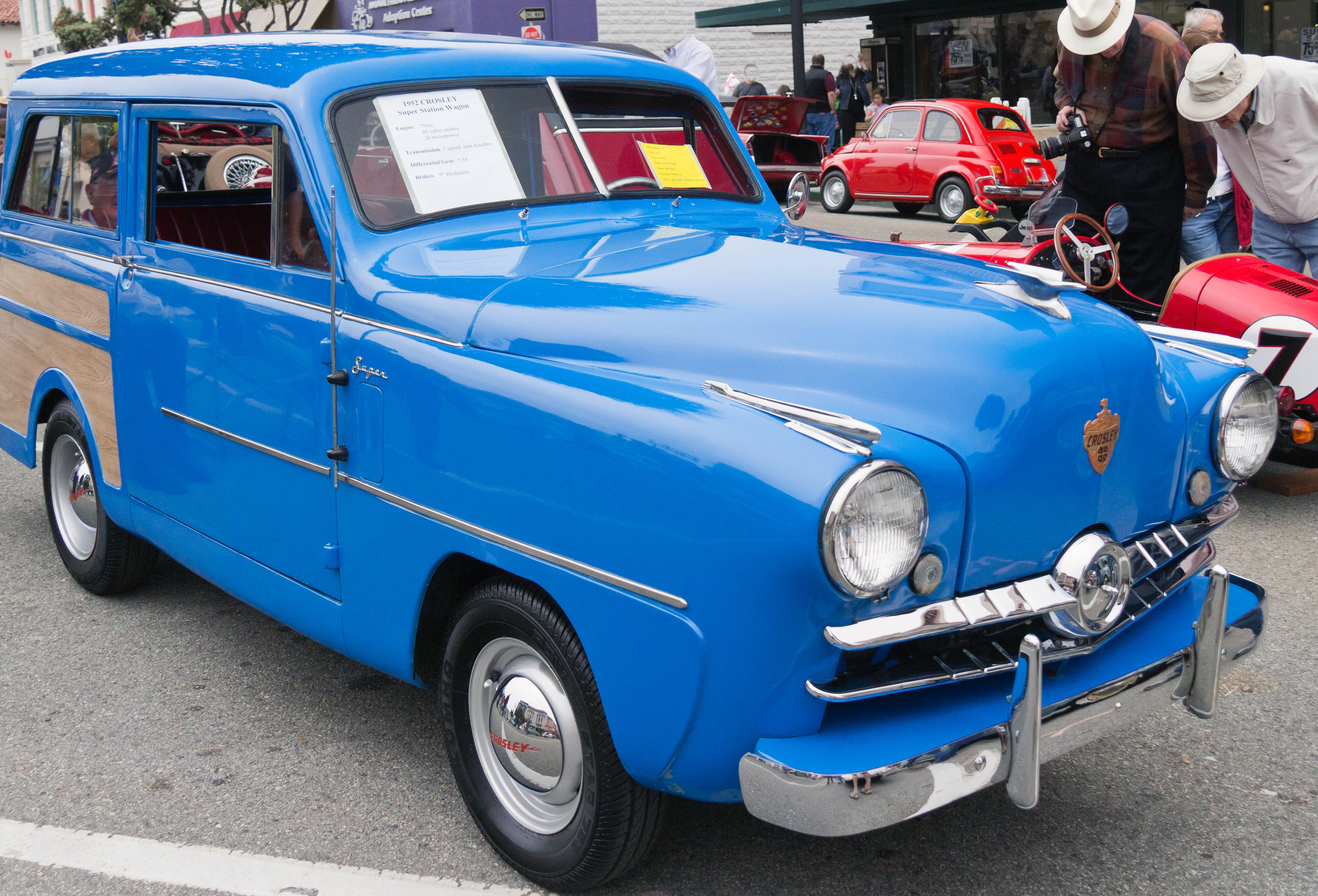 1939 Crosley Car Model...