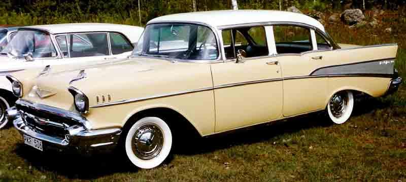 Image gallery 1957 chevy 4 door for 1957 chevy bel air 4 door hardtop for sale