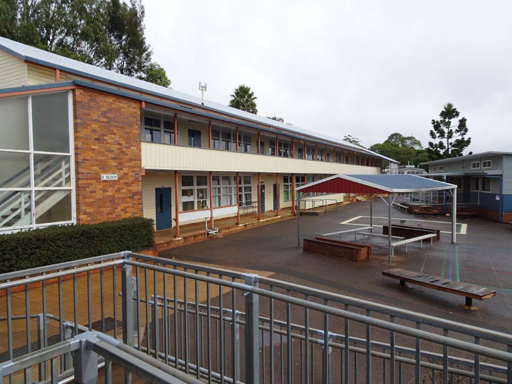 Harristown State High School Buildings