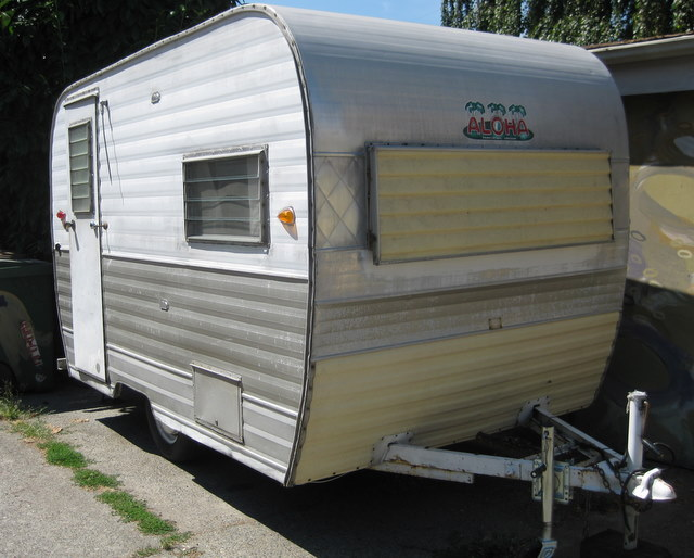 Aloha travel trailer