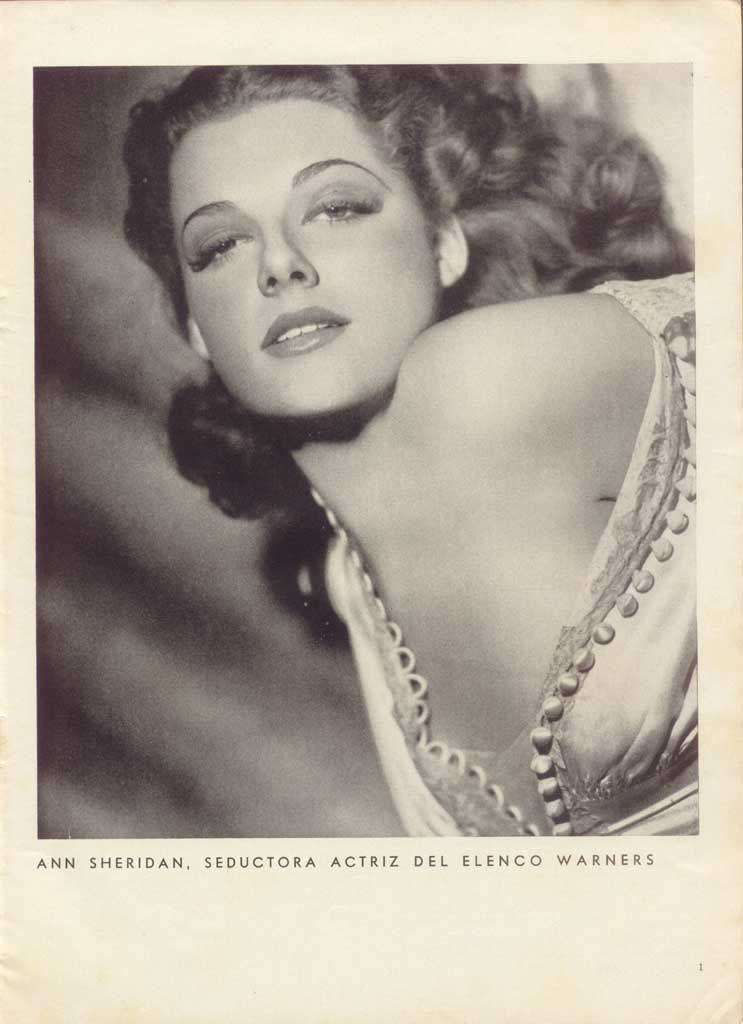 ann sheridan relationships