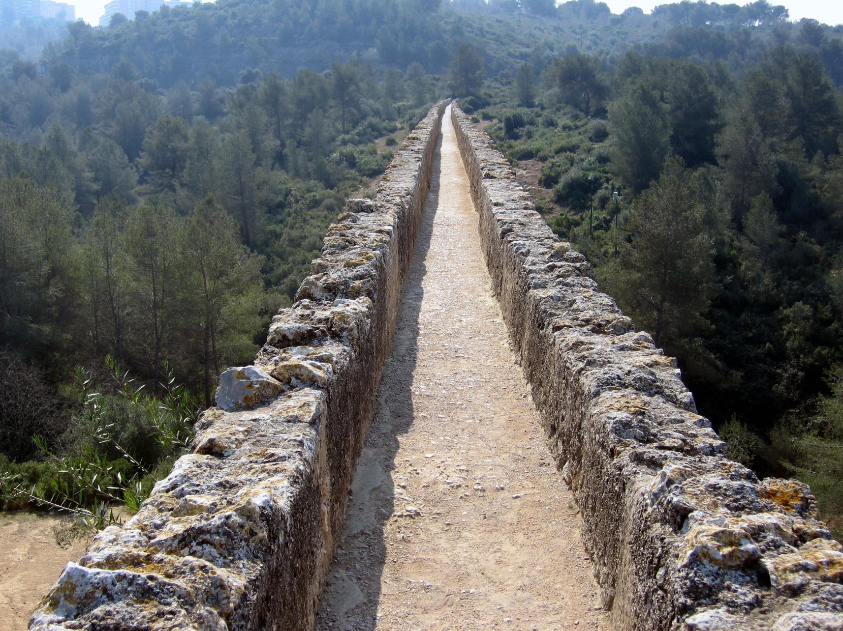 Resultado de imagen de acueducto romano tarragona
