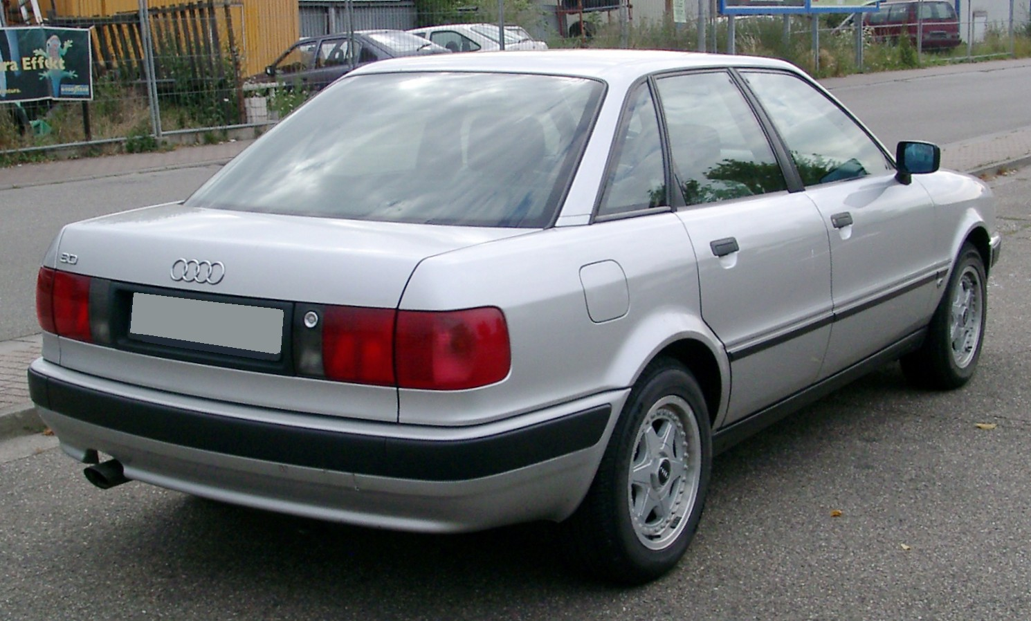 File Audi 80 B4 Rear 20080715 Jpg Wikimedia Commons