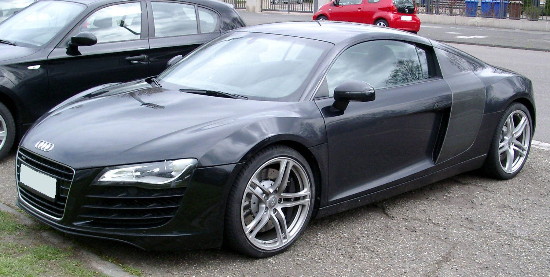 File Audi R8 Front 20080326 Jpg Wikimedia Commons