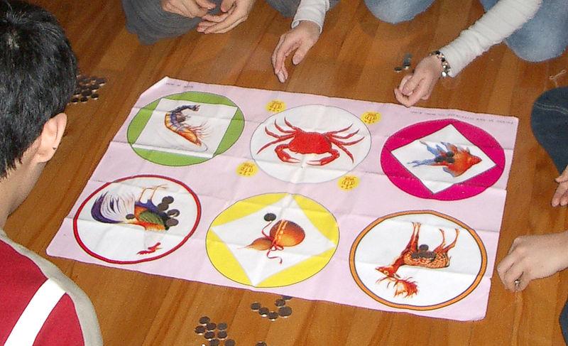 Chinese Drinking Game Crab