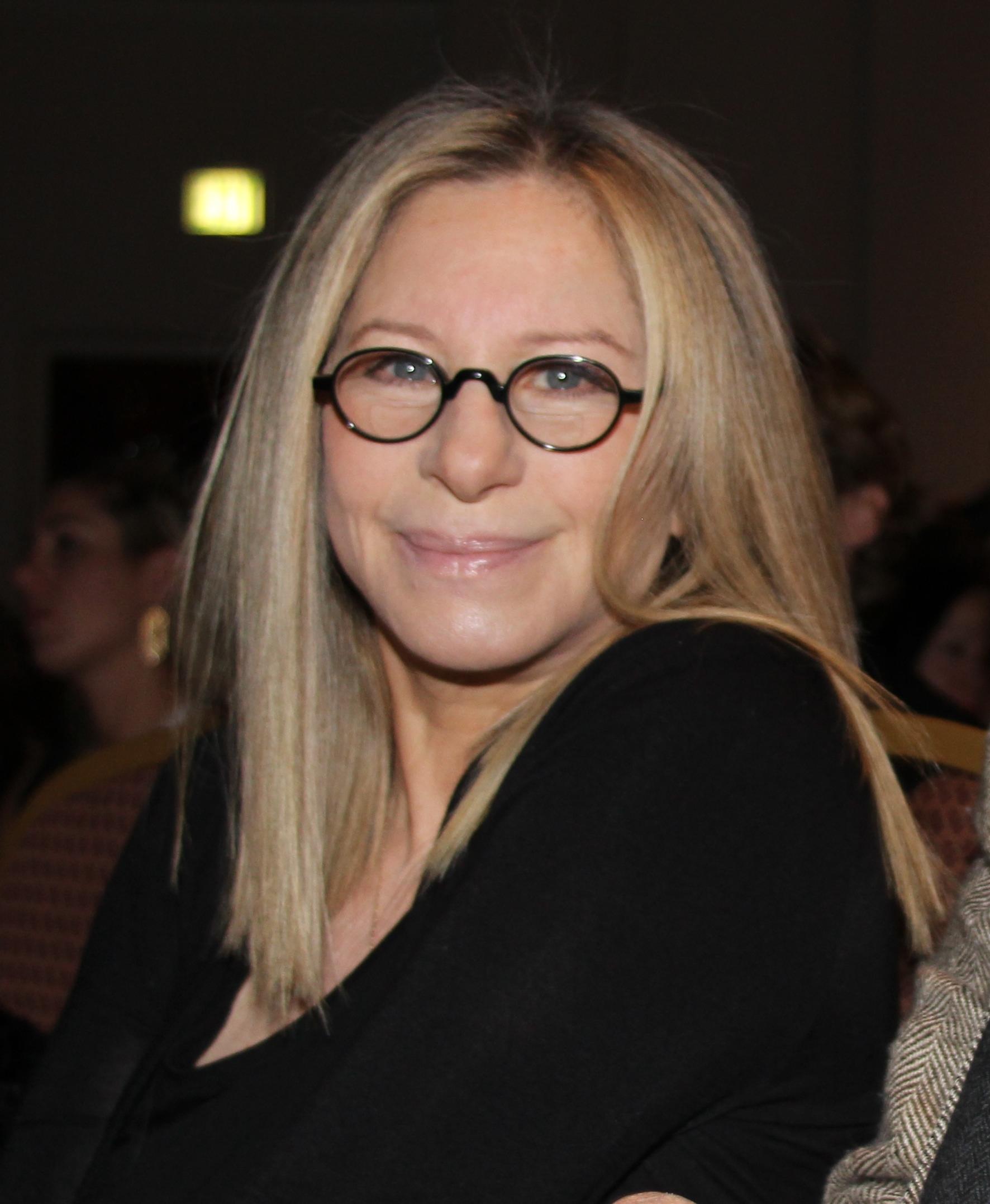 Depiction of Barbra Streisand