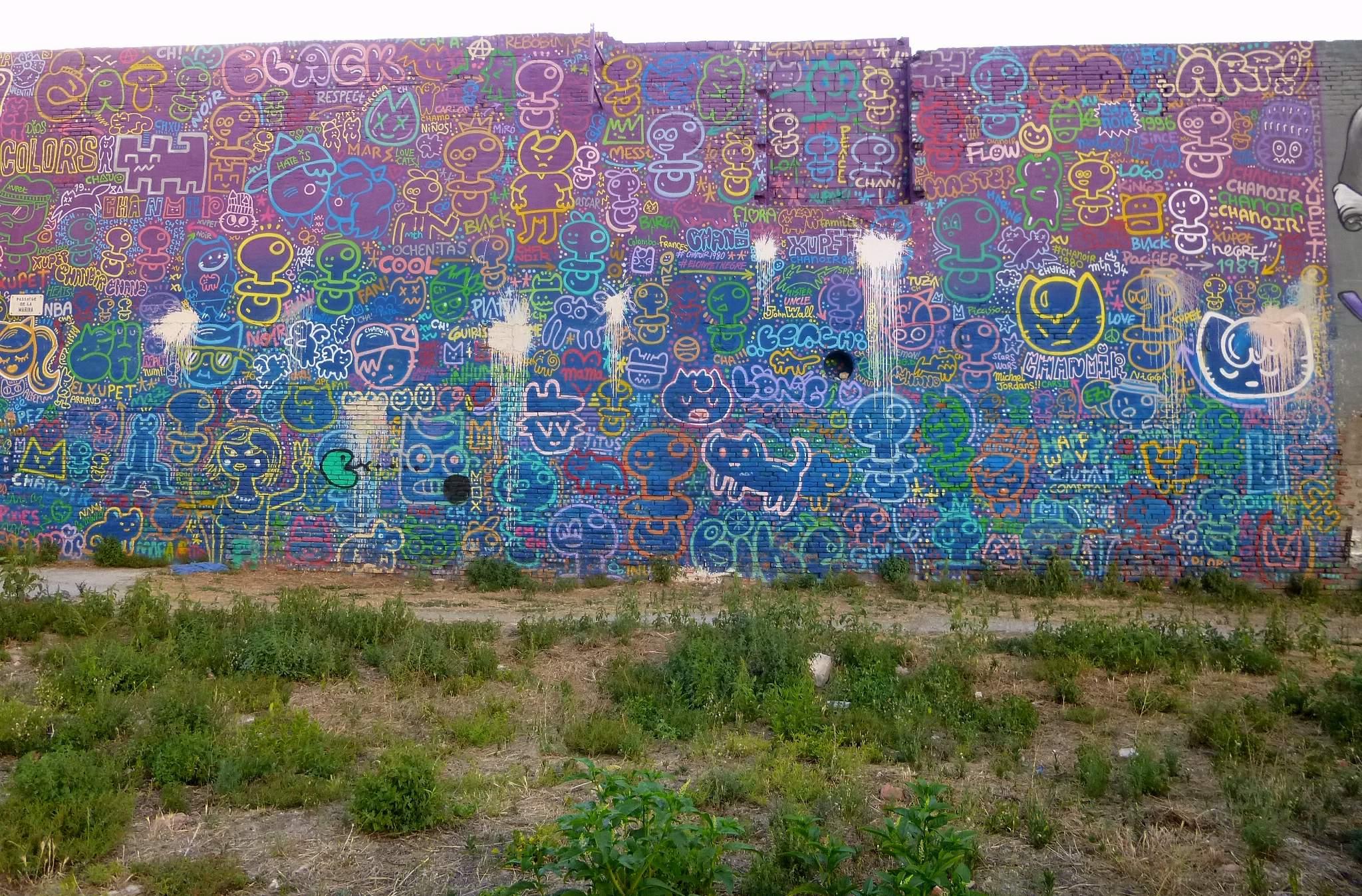 Image result for murals barcelona