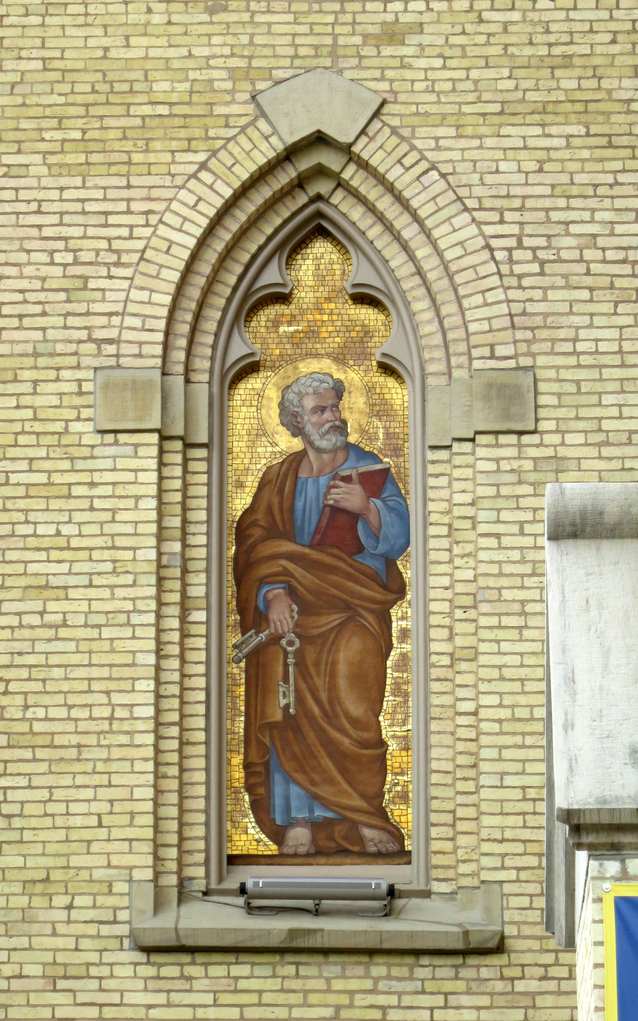 File:Basilica Of The Sacred Heart (Notre Dame, Indiana)   Exterior,