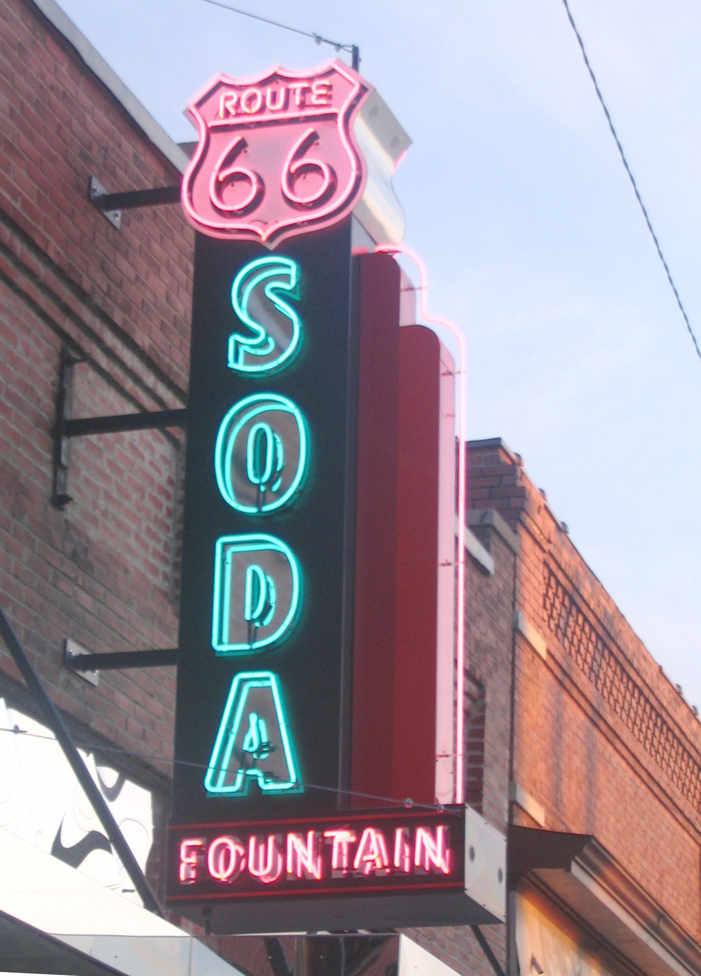 Soda fountain