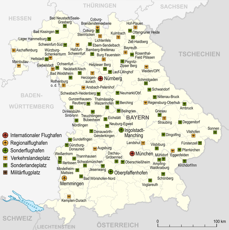 Bundesland Karte Mit Städten.Bayern Wikipedia
