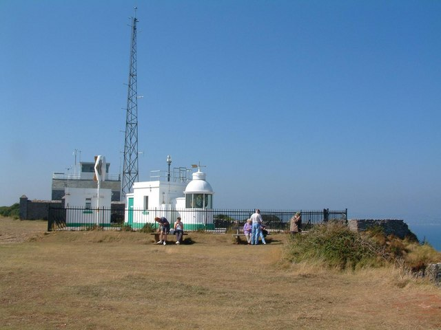 Berry Head lighthouse - geograph.org.uk - 1776553