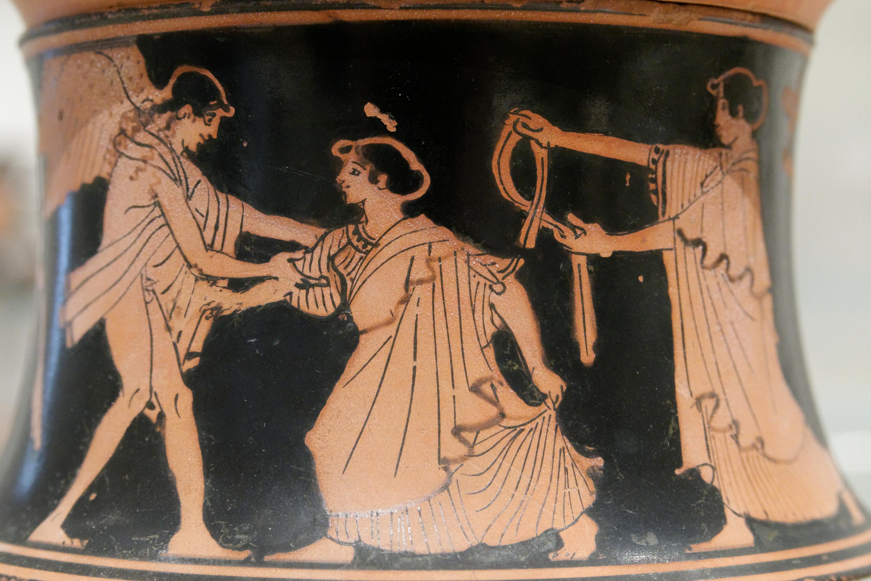 Image result for Ancient Greek Aphrodite vase