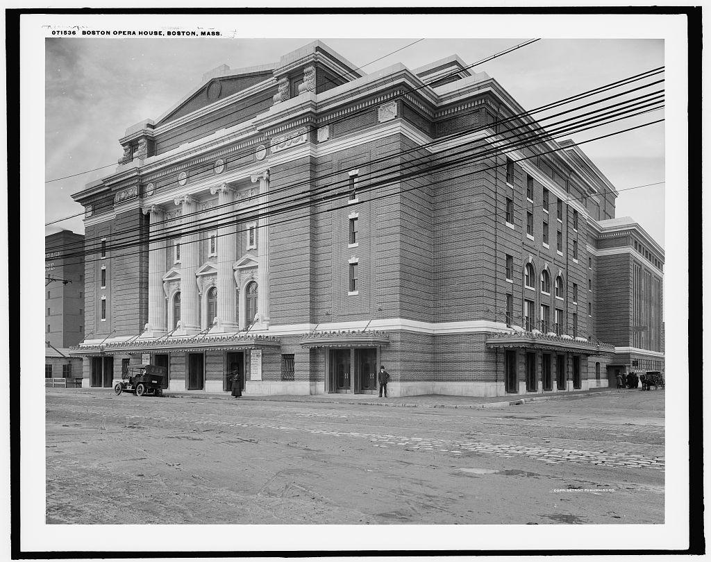 Home Interior Garden Boston Opera House 1909 Wikipedia