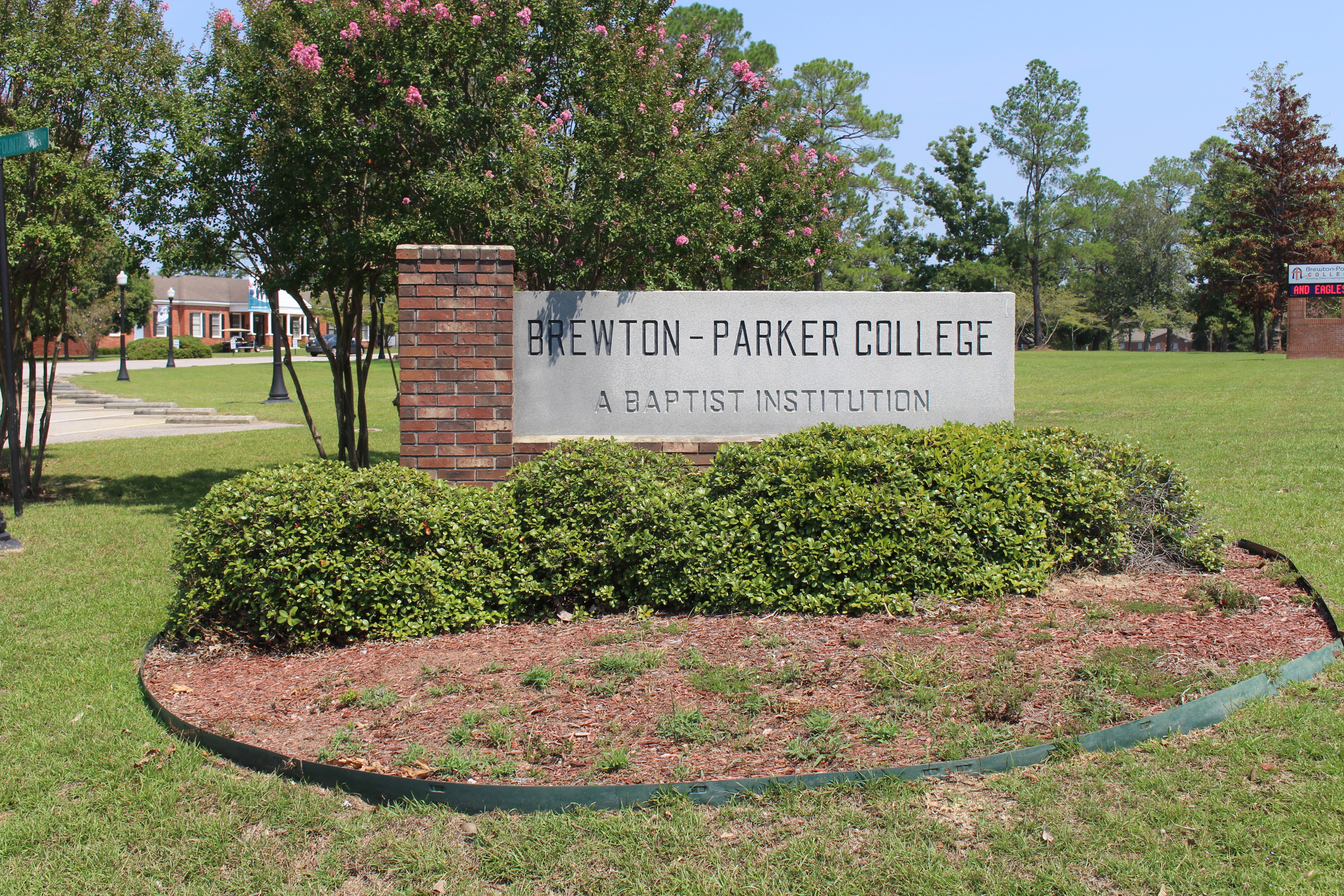 Brewton Parker College >> File Brewton Parker College Sign Jpg Wikimedia Commons