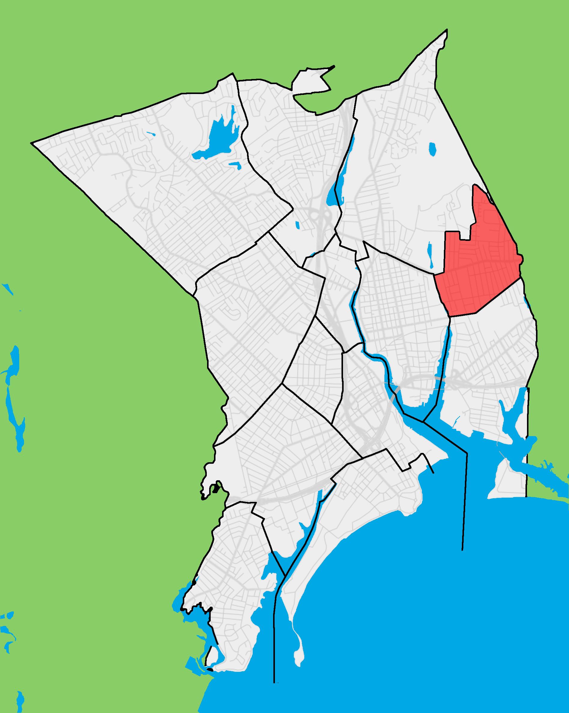 FileBridgeport Neighborhood Map Boston Ave Mill Hillpng - Boston neighborhood map