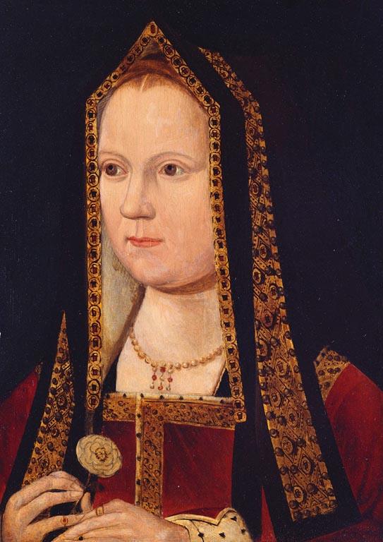 British School, 16th century - Elizabeth of York - Haunted Gallery, Hampton Court Palace.jpg