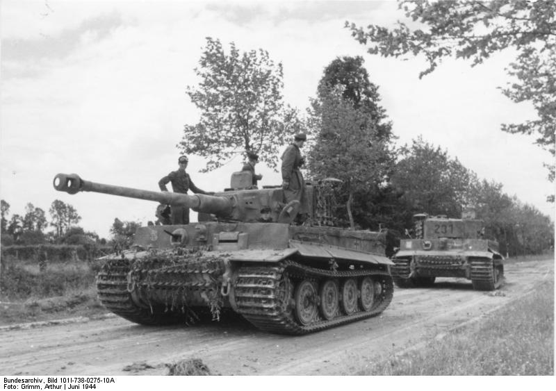 File:Bundesarchiv Bild 101I-738-0275-10A, Bei Villers-Bocage, Panzer VI (Tiger I).jpg