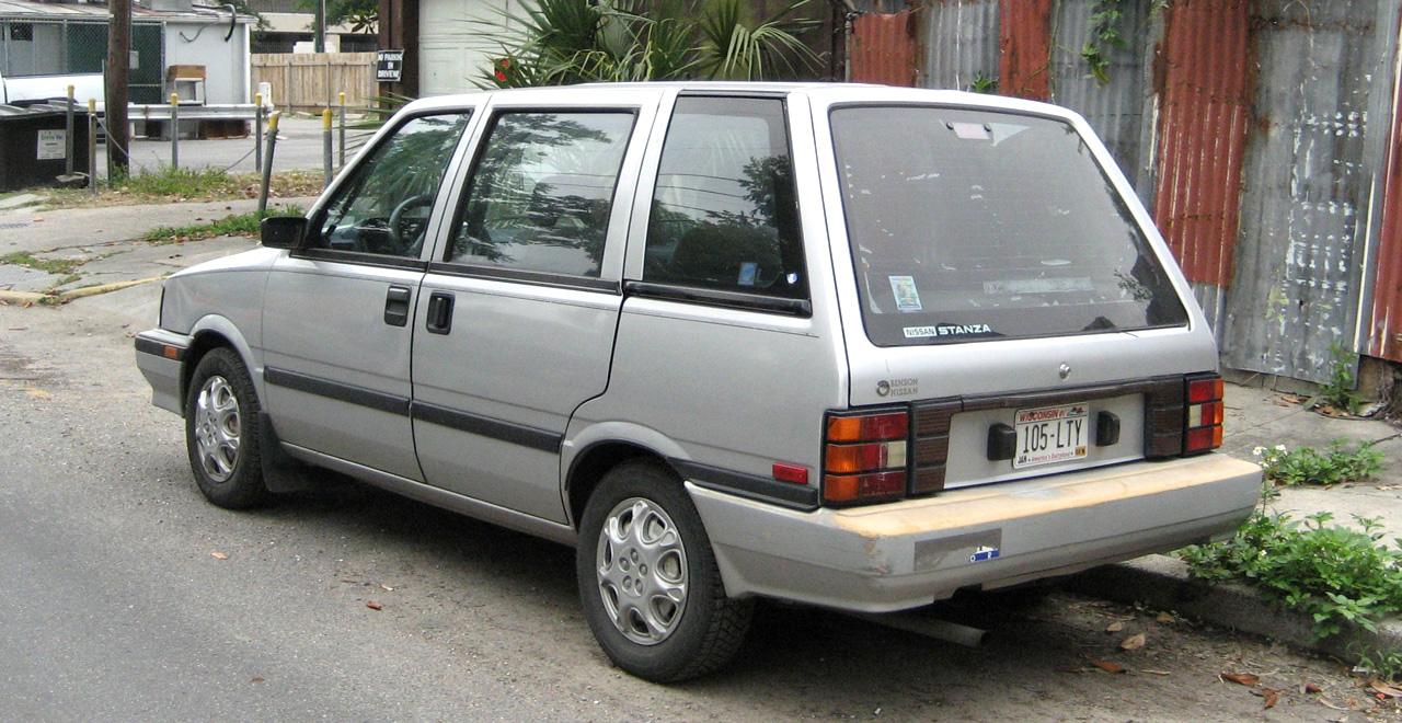 1990 nissan axxess xe passenger minivan 2 4l manual rh carspecs us 1990 Nissan Prairie Nissan Axxess Parts
