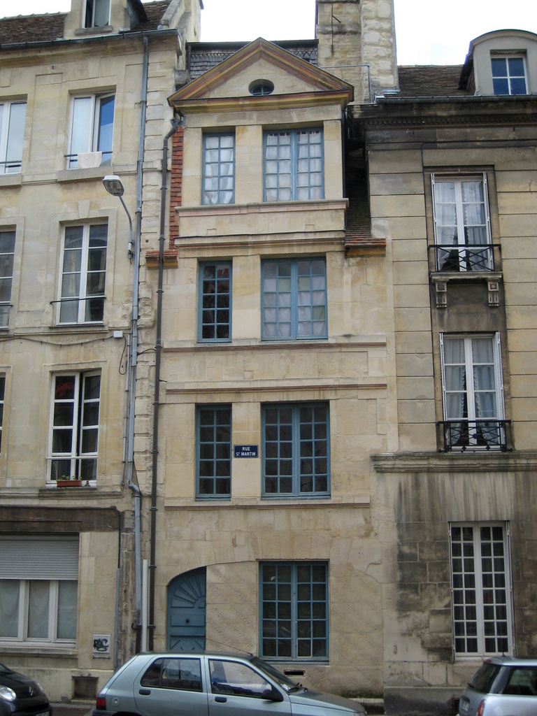 File caen ruesaintmartin wikimedia commons - Rue saint laurent caen ...